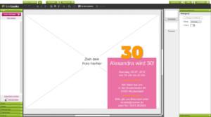 Einladungskarte Im Fambooks Editor Gestalten