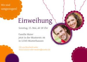 Einladungskarte Julia von FamBooks
