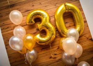 Deko-Ideen Geburtstagsfeier: Folienballons