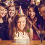 Geburtstagsparty mit Freunden